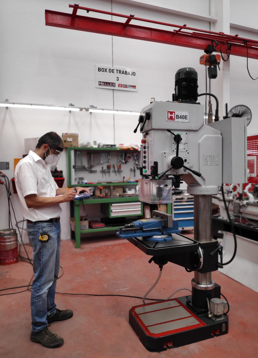 Heller apuesta por la calidad y seguridad de su maquinaria de la mano de PILZ.