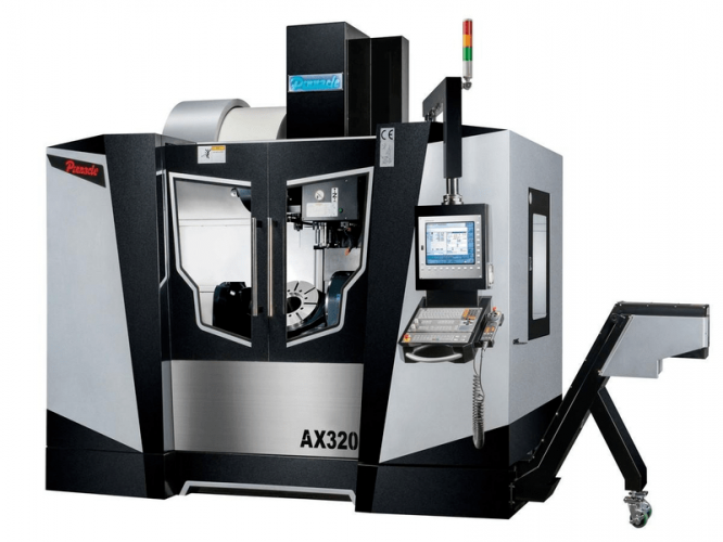 Pinnacle AX320 5 Axes Machining Center