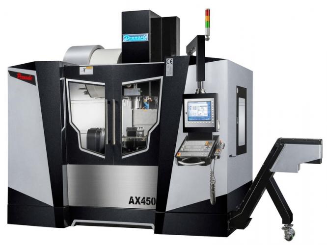 Centro de Mecanizado de 5 Ejes Pinnacle AX450