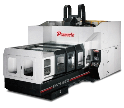 Pinnacle DV1742 Double Column Machining Center