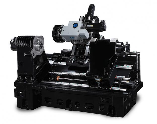 CNC horizontal Lathe Hurco TMX8 MYSi