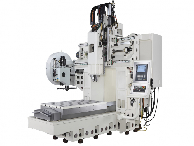 Center of mechanized double column Takumi H12