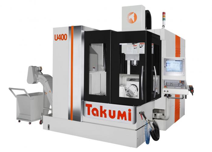 Centro de Mecanizado doble columna Takumi U400