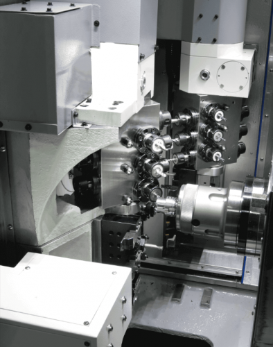 Multitasking lathe Quick Tech I-42 U Subspindle