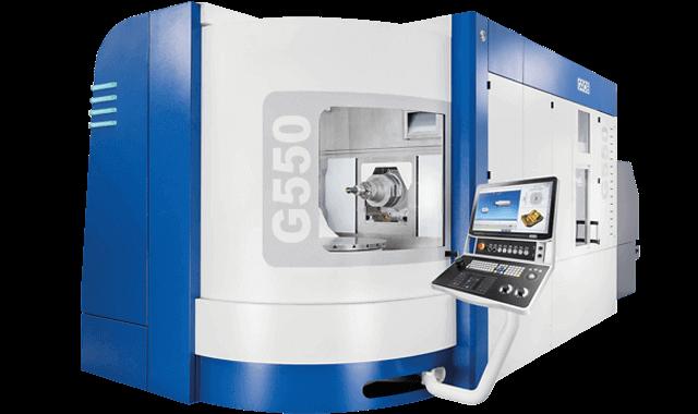 Centro de mecanizado universal Grob G550