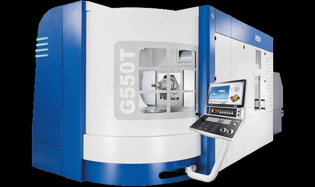 Centro de mecanizado universal Grob G550T