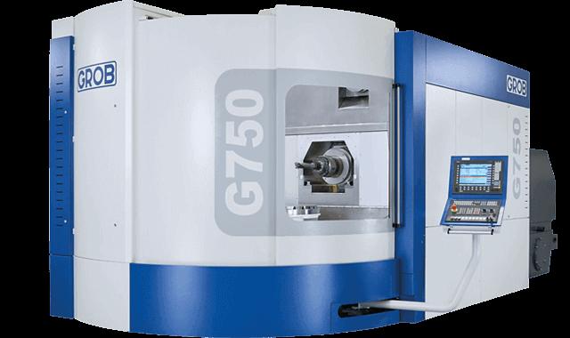 Centro de mecanizado universal Grob G750