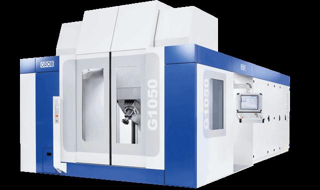 Centro de mecanizado universal Grob G1050