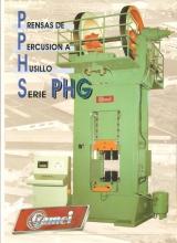 PRENSA DE ESTAMPACION GAMEI TIPO PHG 160/250