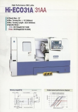 TORNO HWACHEON HI-ECO 31A