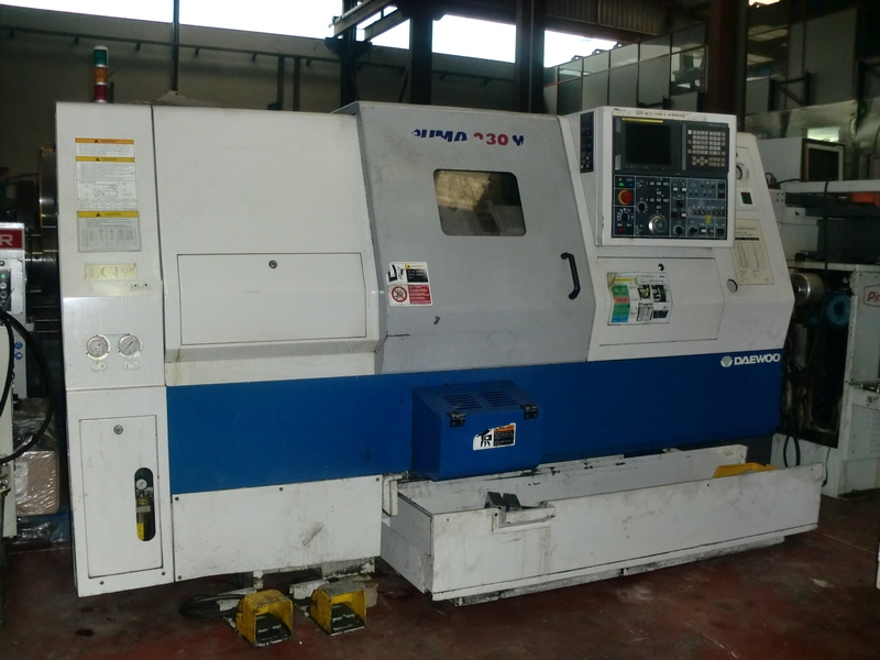 CNC LATHE DAEWOO PUMA 230M - FERROTALL