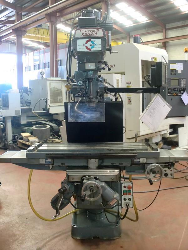 Milling Machine Kondia Kp 90 Ferrotall