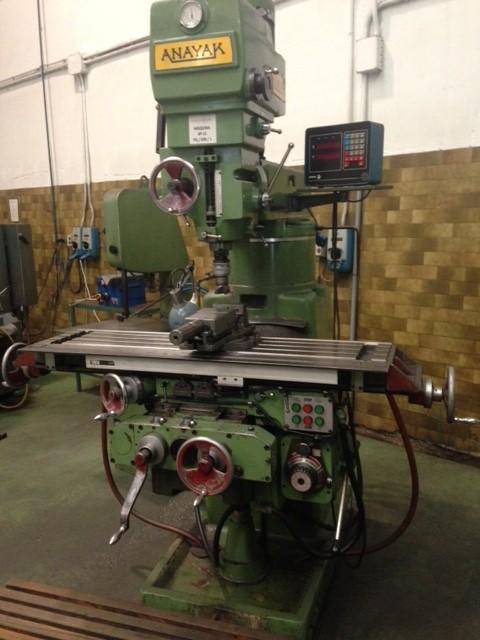 Milling Machine Anayak Fv 4 Ferrotall