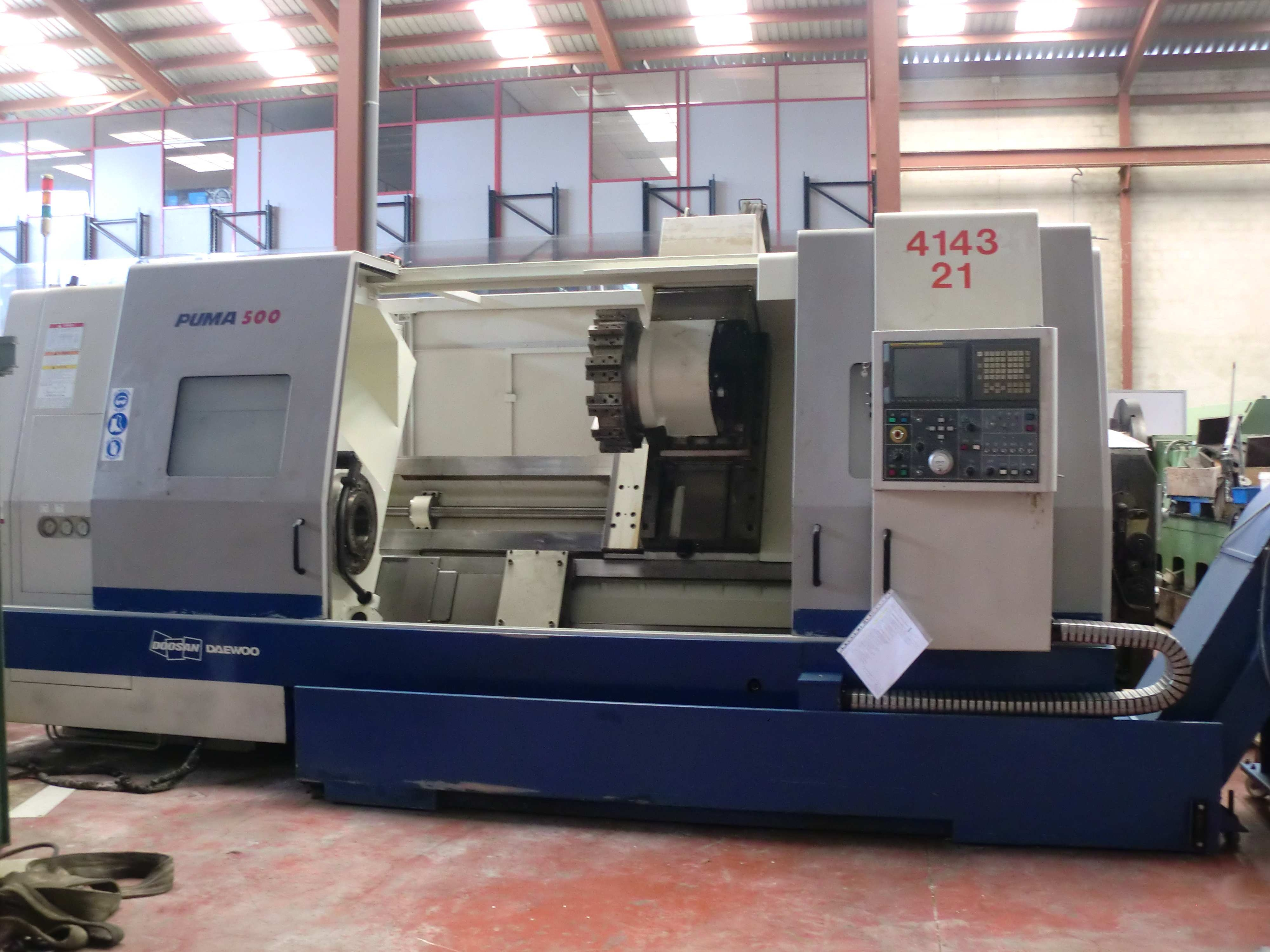 nouveaux styles eb955 2f89e LATHE DOOSAN PUMA 500 CNC - FERROTALL