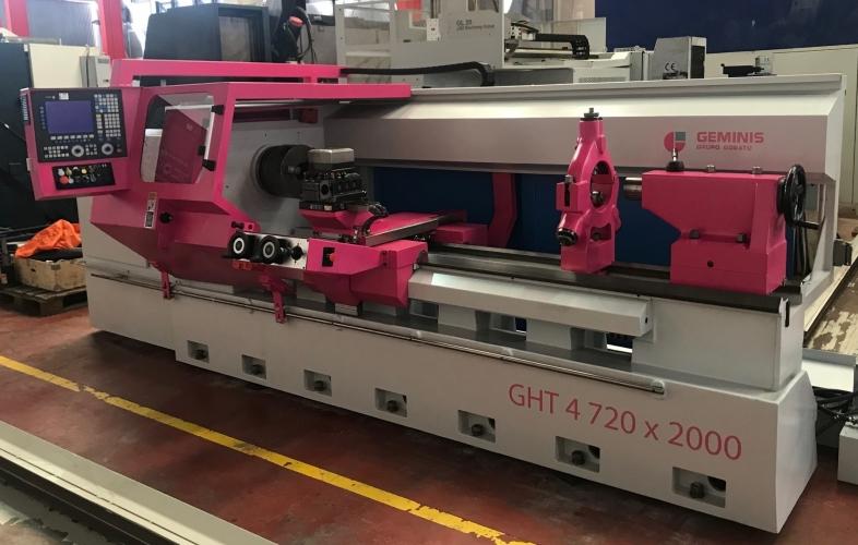 LATHE CNC GEMINIS GHT4 720X2000
