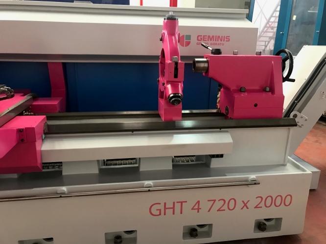 TORNO CNC GEMINIS GHT4 720X2000