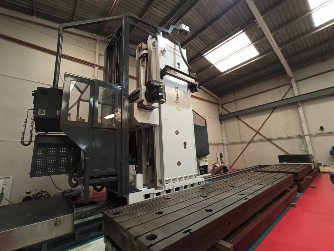 MOVING COLLUMN MILLING MACHINE ZAYER 30KCU 10.000AR