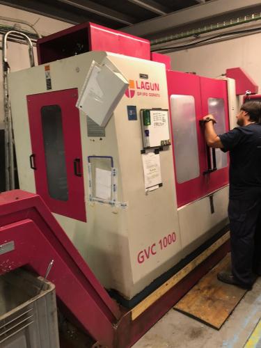 MACHINING CENTER LAGUN GVC 1000