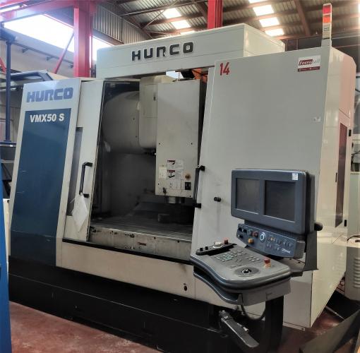 CENTRO MECANIZADO HURCO VMX50