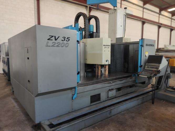 MACHINING CENTER  IBARMIA ZV35/L2200