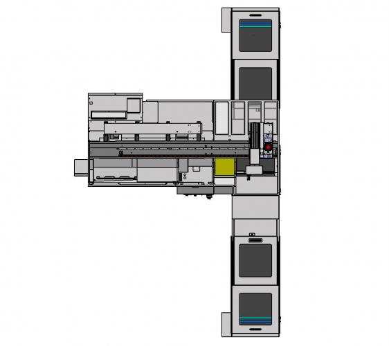 TORNO CNC CMZ TL20T GL20