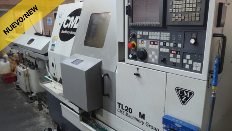 TORNO CNC CMZ TL20 M