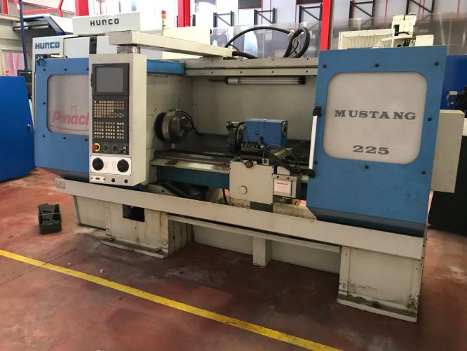 LATHE CNC PINACHO MUSTANG 225x1500