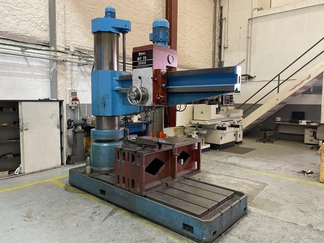 RADIAL DRILLING MACHINE FORADIA MT-75-2000