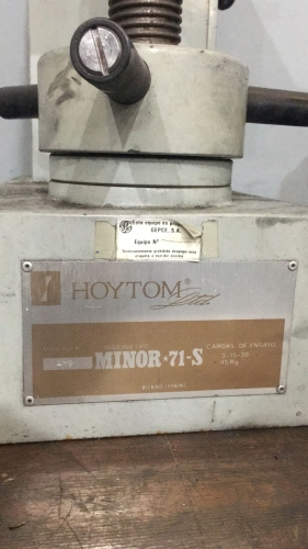 DUROMETRO HOYTON MINOR 71S