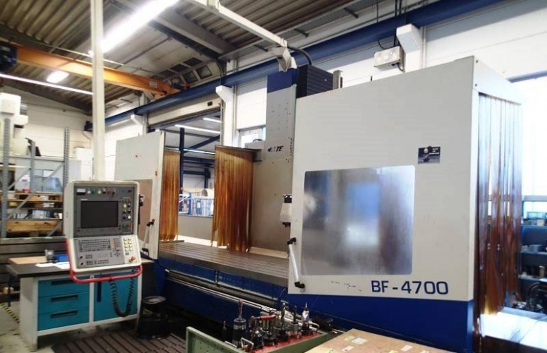MILIING MACHINE BED TYPE MTE BF-4700