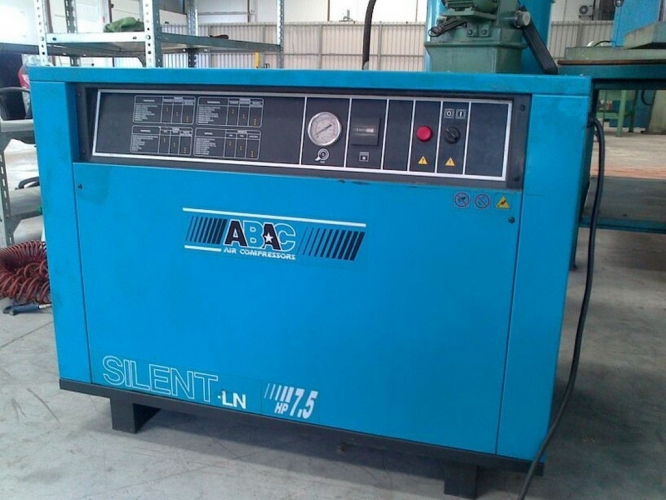PISTON COMPRESSOR ABAC SILENT 7.5HP