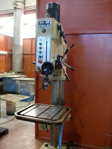 COLUMN DRILLING MACHINE ERLO TC-35