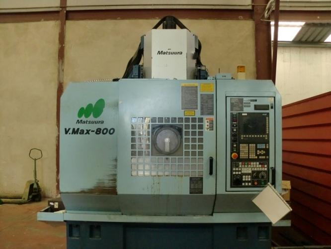 CENTRO MECANIZADO VERTICAL MATSUURA VMAX 800