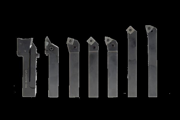 Juego de 7 porta herramientas torneado 20mm