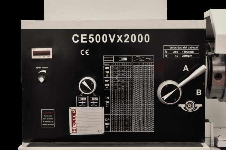 TORNO PARALELO HELLER CE500VX2000