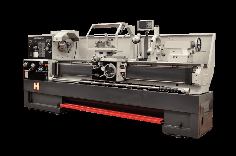 maquinaria convencional torno paralelo con variador Heller model CE500Vx2000