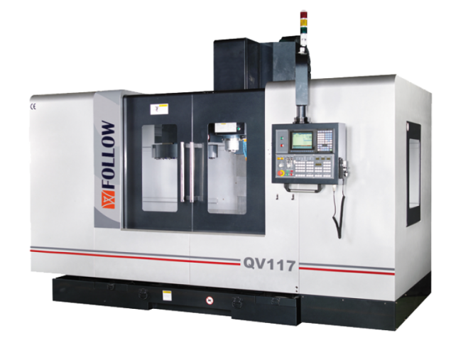 CENTRO DE MECANIZADO VERTICAL CNC FOLLOW QV209