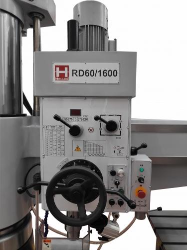 TALADRO RADIAL HELLER RD60/1600