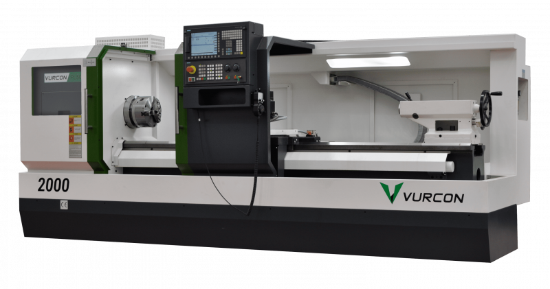 Vurcon PL-50x2000 Flat bed lathe