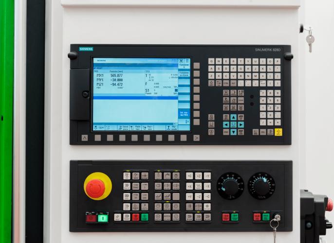 Control numérico Centro de mecanizado Vurcon VL-127