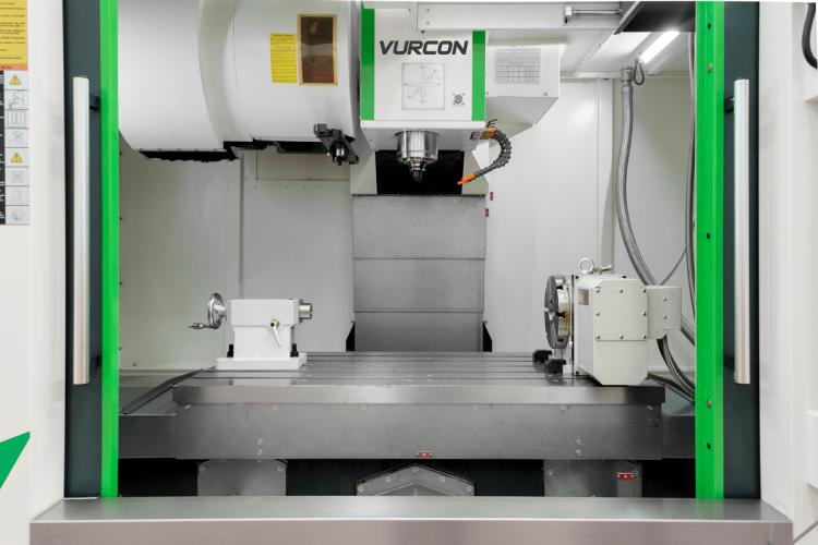 3 y 4 ejes Centro de mecanizado Vurcon VL-127